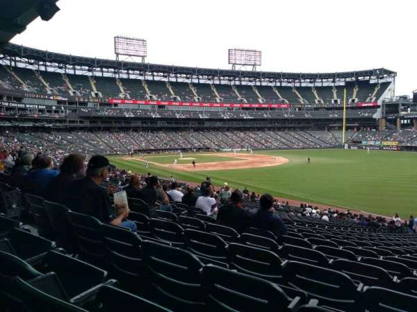Guaranteed Rate Field, section: 112, rangée: 35, siège: 1
