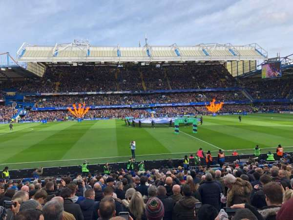 Stamford Bridge, section: West Stand Lower 5, rangée: 23, siège: 134