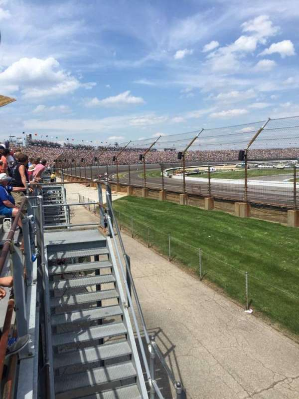 Indianapolis Motor Speedway, section: H, rangée: 1