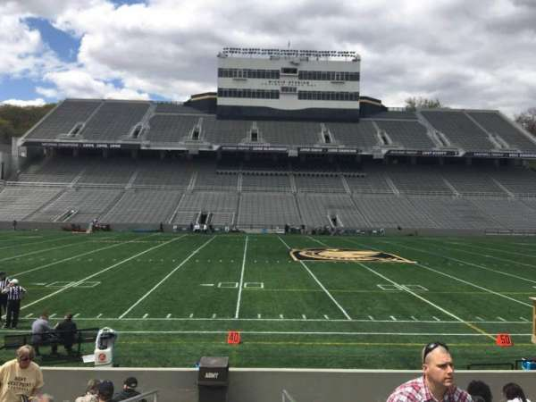 Michie Stadium, section: 29, rangée: K, siège: 17
