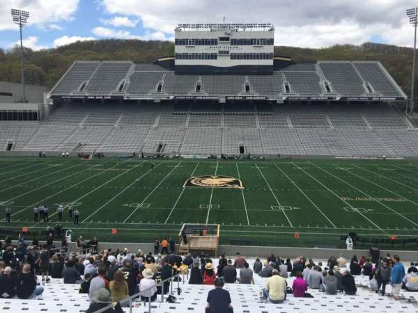 Michie Stadium, section: 28, rangée: KK, siège: 27