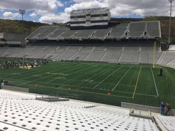 Michie Stadium, section: 25, rangée: CC, siège: 17