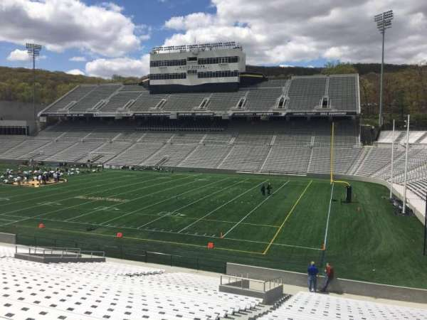 Michie Stadium, section: 25, rangée: CC, siège: 11