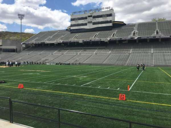 Michie Stadium, section: 25, rangée: C, siège: 27