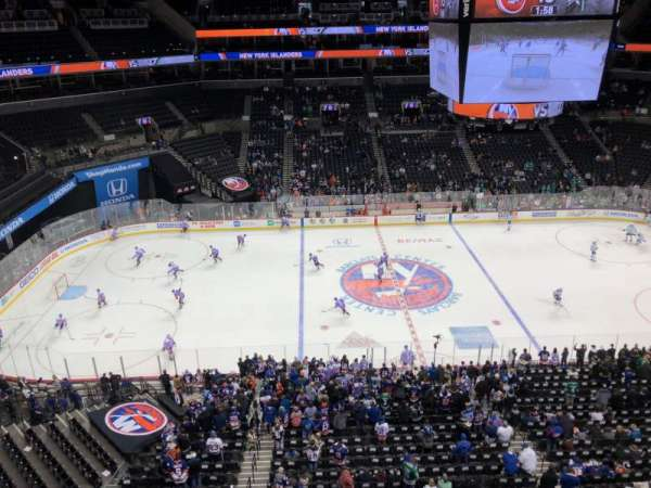 Barclays Center, section: 226, rangée: 2, siège: 7