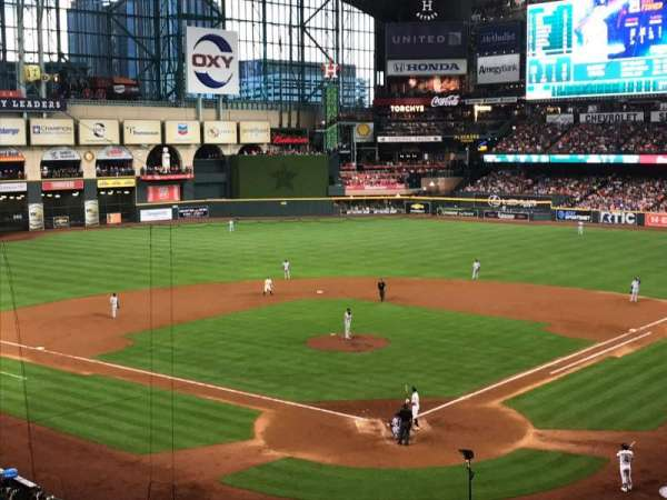 Minute Maid Park, section: 218, rangée: 5, siège: 12