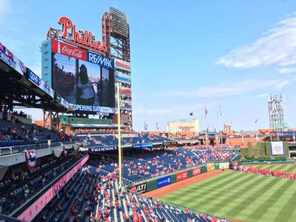 Citizens Bank Park, section: 232, rangée: 1, siège: 6