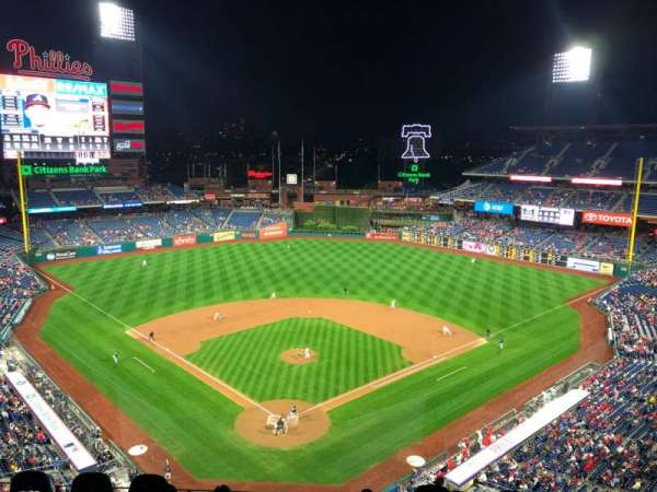 Citizens Bank Park, section: 420, rangée: 2, siège: 15