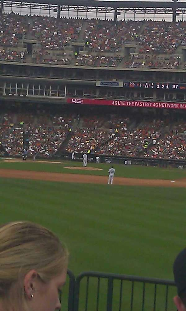 Comerica Park, section: 103