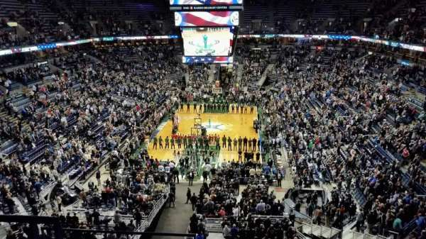 BMO Harris Bradley Center, section: 410, rangée: F, siège: 12