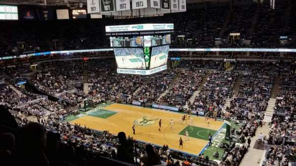 BMO Harris Bradley Center, section: 419, rangée: K, siège: 6