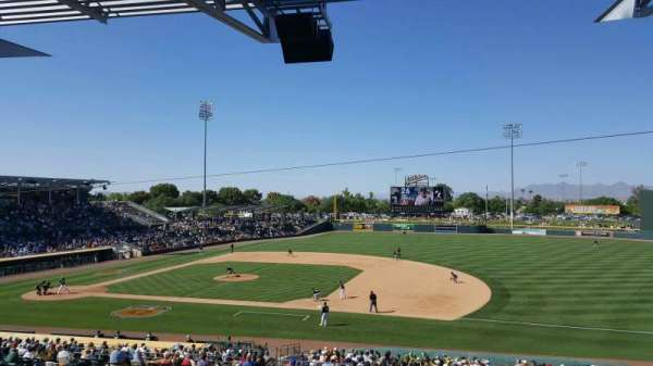 HoHoKam Stadium, section: Terrace/Patio