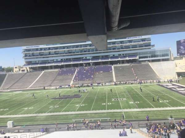 Bill Snyder Family Stadium, section: 25, rangée: 43