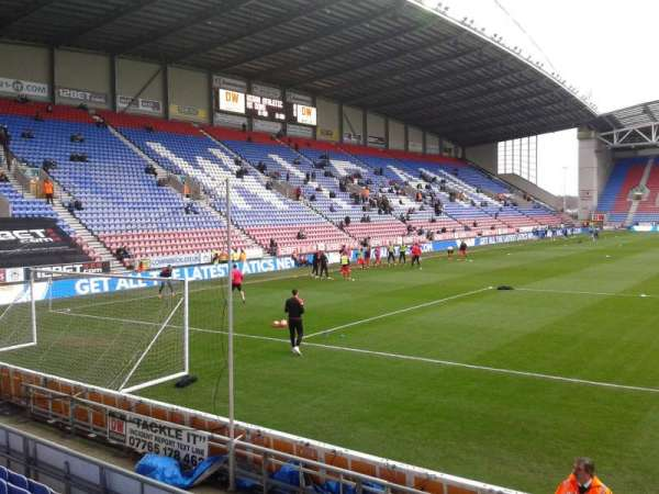 DW Stadium, section: North Stand