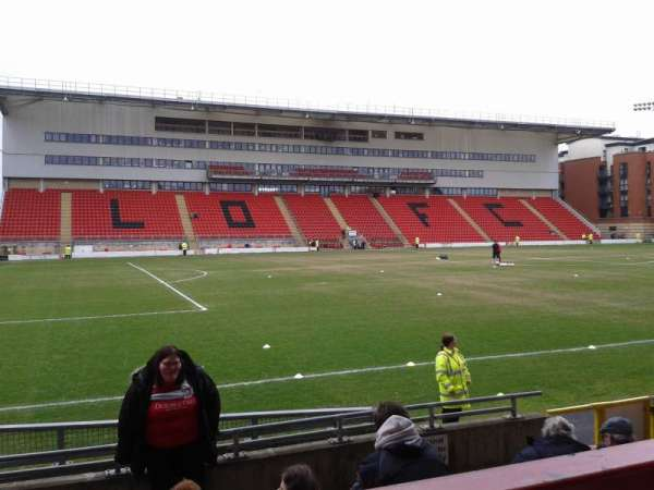 Brisbane Road, section: East Stand