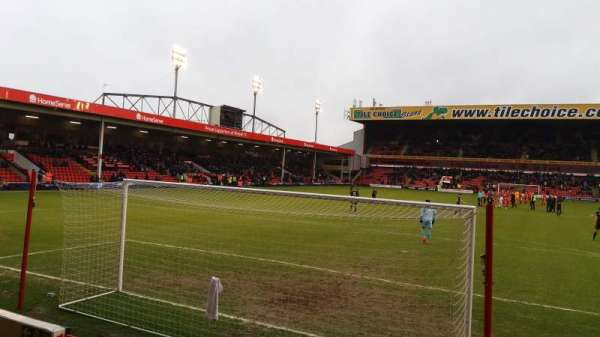 Bescot Stadium, section: Away End