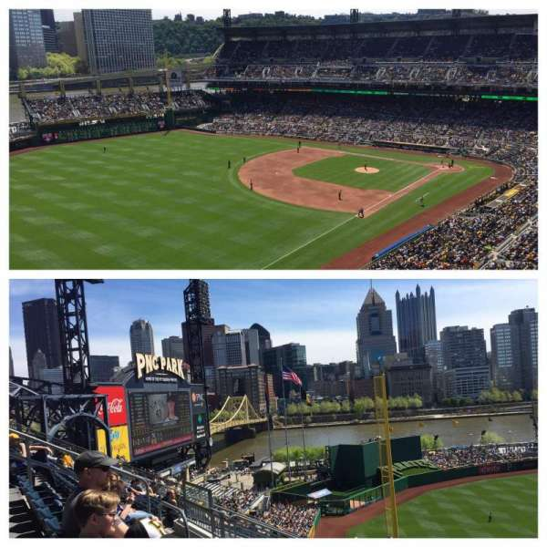 PNC Park, section: 332, rangée: m