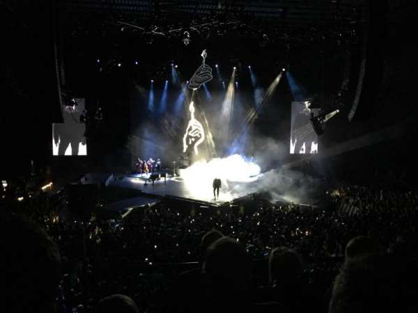 First Direct Arena , section: 105, rangée: 4