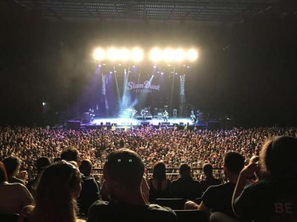 First Direct Arena, section: 105, rangée: 4