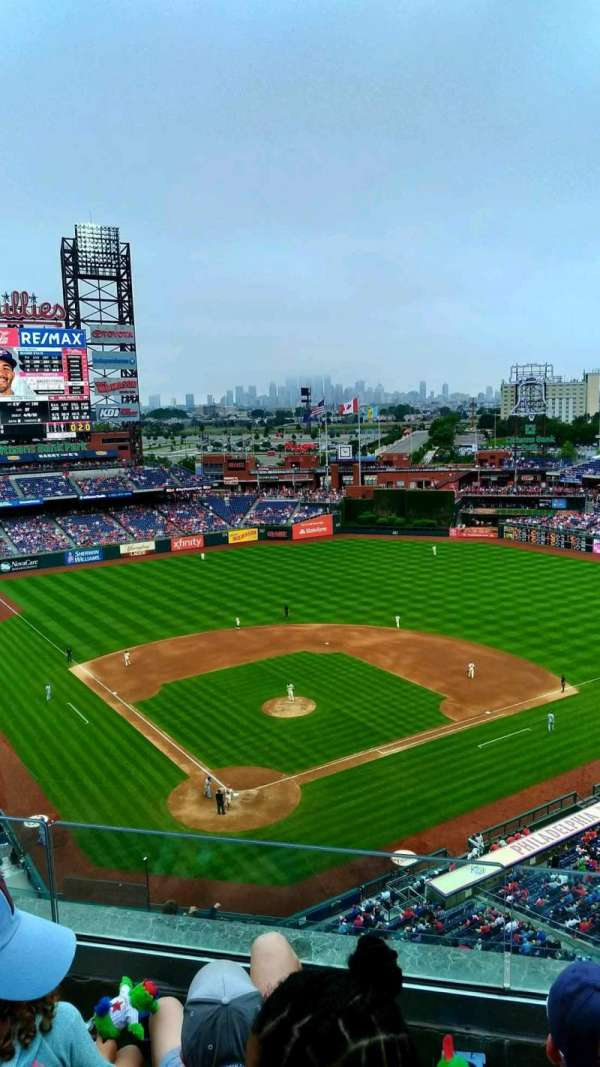Citizens Bank Park, section: 419, rangée: 3, siège: 15