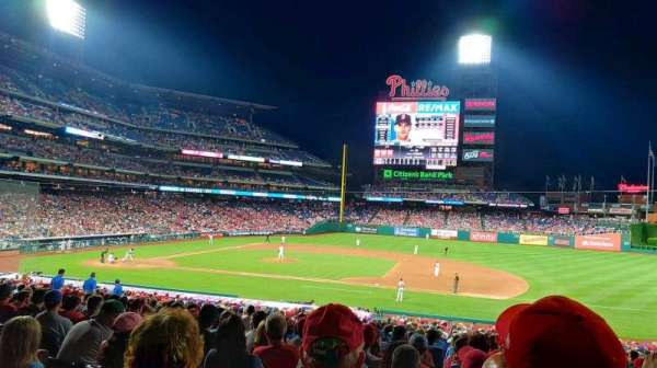Citizens Bank Park, section: 115, rangée: 36, siège: 12