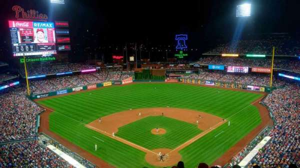 Citizens Bank Park, section: 421, rangée: 7, siège: 9