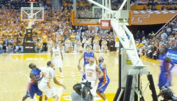 Thompson-Boling Arena, section: 113