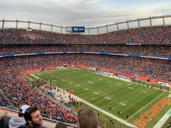 Empower Field at Mile High Stadium, section: 502, rangée: 3