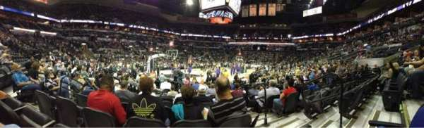 AT&T Center, section: 112, rangée: 13, siège: 4