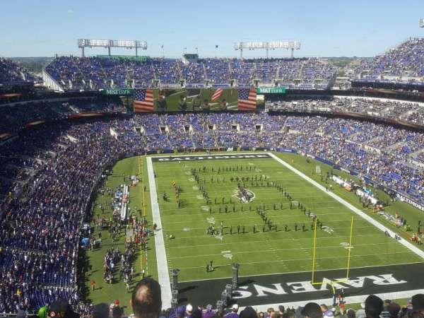M&T Bank Stadium, section: 515, rangée: 20, siège: 16