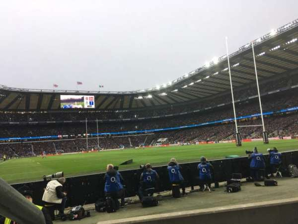 Twickenham Stadium, section: L36, rangée: 3, siège: 246