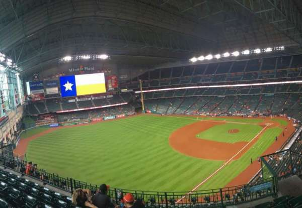 Minute Maid Park, section: 407