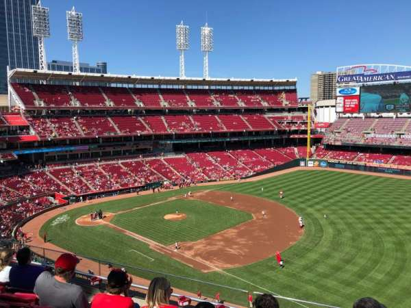 Great American Ball Park, section: 433, rangée: G