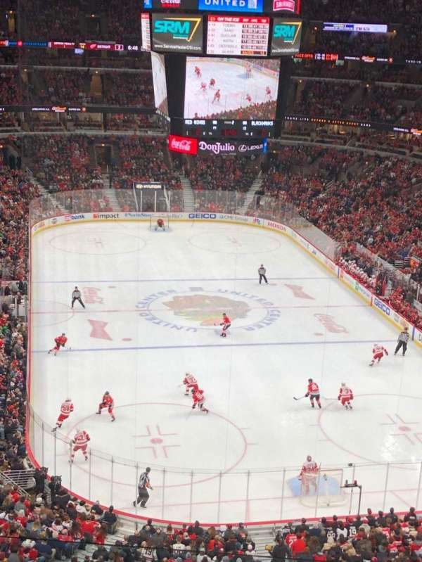 United Center, section: 310, rangée: 5, siège: 13