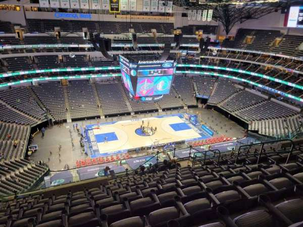 American Airlines Center, section: 328, rangée: S, siège: 10