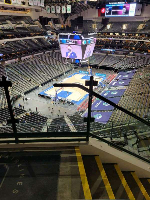 American Airlines Center, section: 332, rangée: G, siège: 10