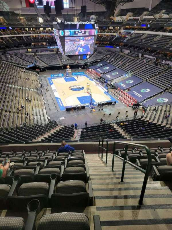 American Airlines Center, section: 303, rangée: C, siège: 1