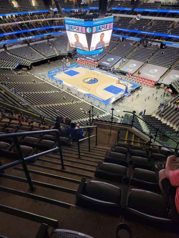 American Airlines Center, section: 305, rangée: N, siège: 10