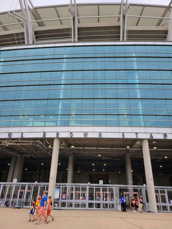 Paul Brown Stadium, section: Gate A