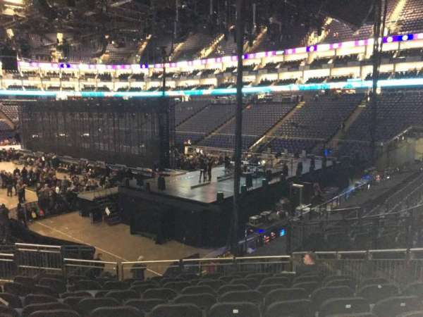 The O2 Arena, section: 114, rangée: T, siège: 421