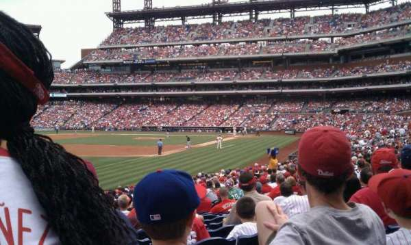 Citizens Bank Park, section: 137, rangée: 28, siège: 13