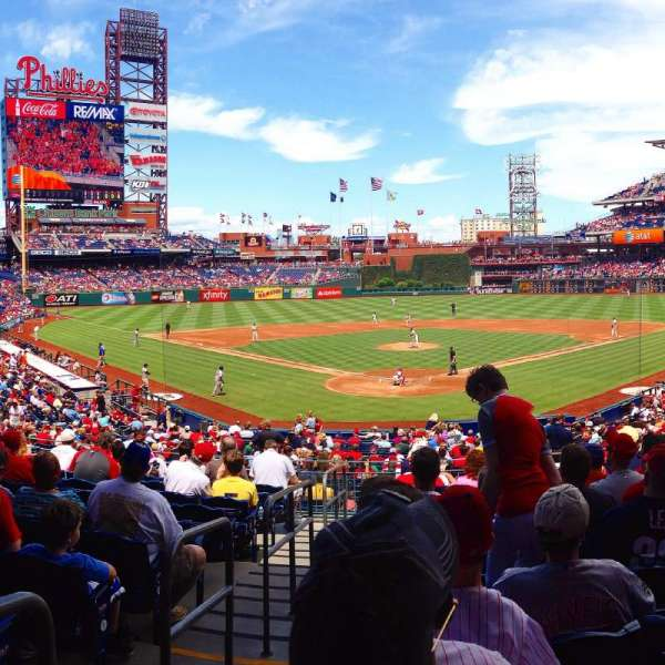 Citizens Bank Park, section: 123, rangée: 31, siège: 11