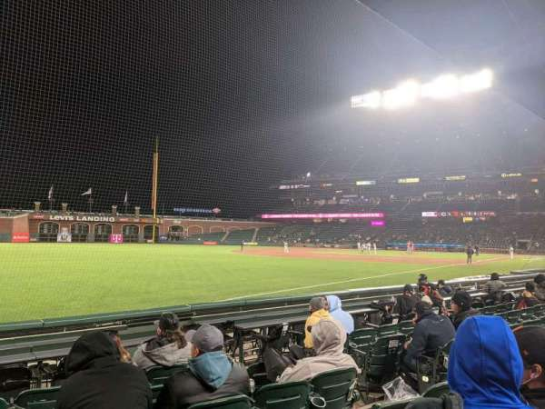 Oracle Park, section: 130, rangée: 7, siège: 6