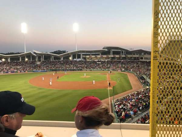 JetBlue Park, section: Monster, rangée: SR