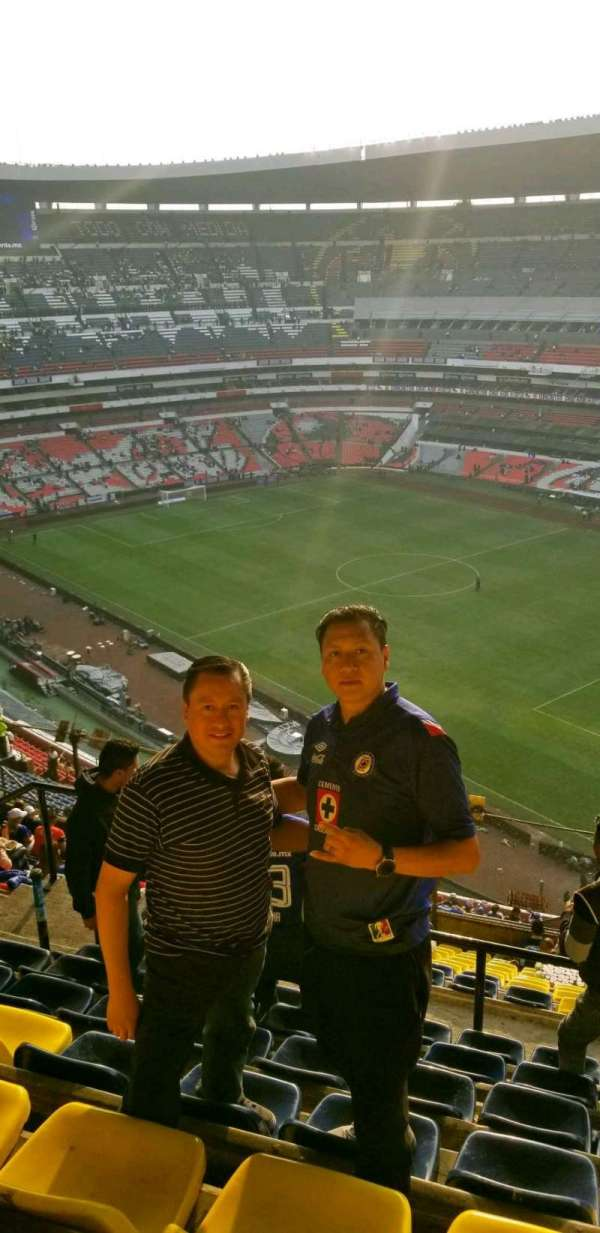 Estadio Azteca, section: 552, rangée: j, siège: 20