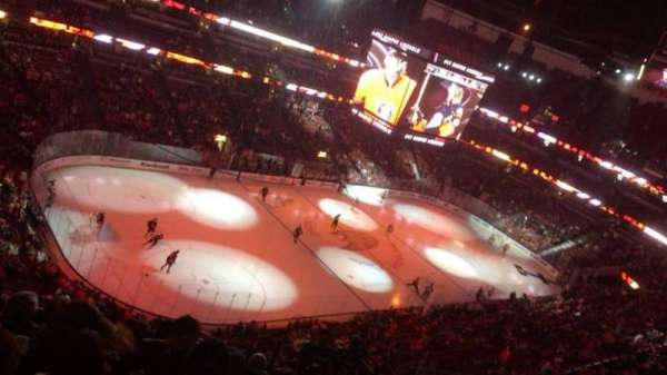 Honda Center, section: 439, rangée: M, siège: 5