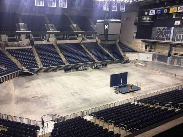 Cintas Center, section: 208, rangée: B, siège: 7