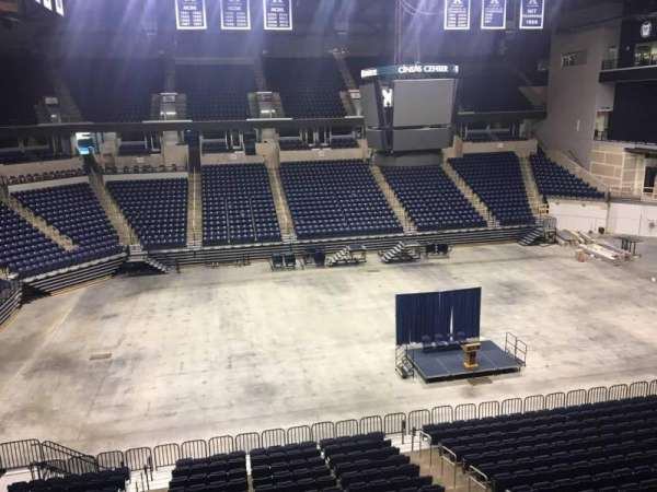Cintas Center, section: 210, rangée: B, siège: 7