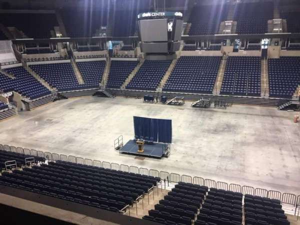 Cintas Center, section: 214, rangée: B, siège: 6