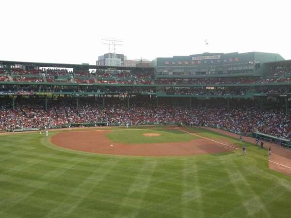 Fenway Park, section: Green Monster 6, rangée: 2, siège: 6